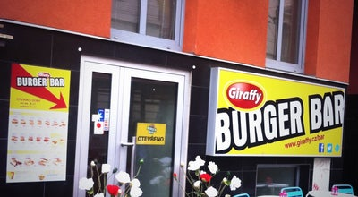 Photo of Burger Joint Giraffy Burger Bar at Kounicova 35, Brno 602 00, Czech Republic