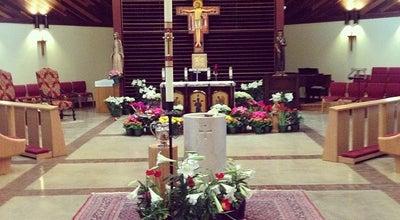 Photo of Church St. Thomas More University Parish at 100 Stinson St, Norman, OK 73072, United States