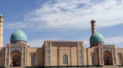 Photo of Mosque Hazrati Imom Jome Masjidi at Uzbekistan, Uzbekistan
