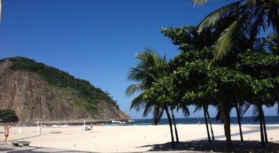 Photo of Beach Praia do Leme at Av. Atlântica, Rio de Janeiro 22010-000, Brazil