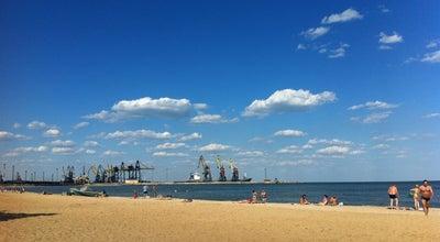 Photo of Beach Піщаний пляж / Песчаный пляж / Sandy beach at Ул. Большая Морская, Мариуполь, Ukraine