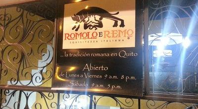 Photo of Italian Restaurant Romolo e Remo at Republica De El Salvador N34-399, Quito 170515, Ecuador