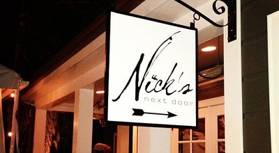 Photo of New American Restaurant Nick's Next Door at 11 College Ave, Los Gatos, CA 95030, United States