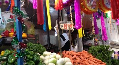 Photo of Farmers Market Mercado Romero Rubio at Mexico City, Mexico