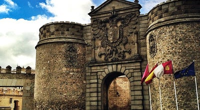 Photo of Historic Site Puerta de Bisagra Nueva at Calle Alfonso Vi, Toledo, Spain
