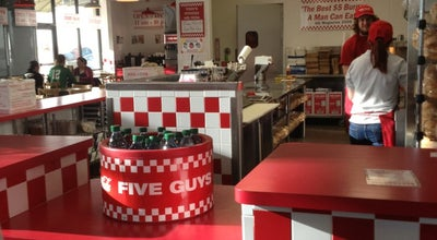 Photo of Burger Joint Five Guys Burgers & Fries at 6076 Marsha Sharp Fwy, Lubbock, TX 79407