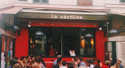 Photo of French Restaurant La Sardine at Place Sainte Marthe, Paris 75010, France