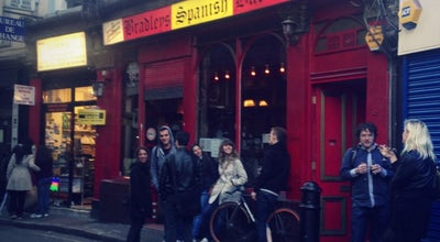 Photo of Bar Bradley's Spanish Bar at 42-44 Hanway Street, St. Giles W1T 1UP, United Kingdom