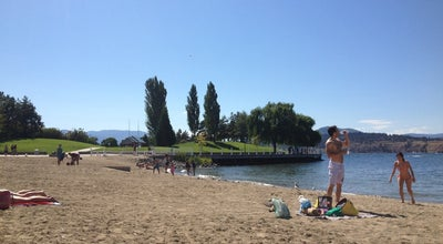 Photo of Beach Tugboat Beach at Kelowna, Br, Canada