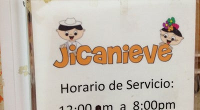 Photo of Ice Cream Shop Jicanieve at Oriente 4, Orizaba, Mexico
