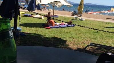 Photo of Beach Bankacılar Plajı at Dikili, Turkey