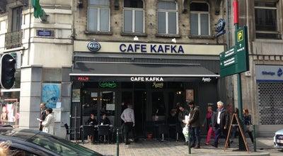 Photo of Pub Café Kafka at Visverkopersstraat 21 Rue Des Poissonniers, Brussels 1000, Belgium