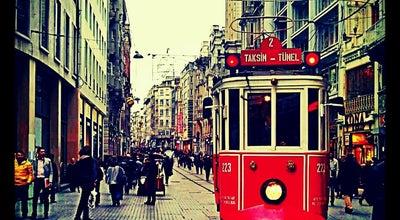 Photo of Road İstiklal Caddesi at Beyoğlu 34400, Turkey