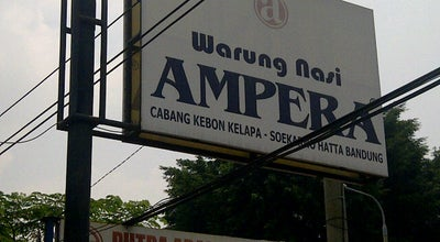 Photo of Asian Restaurant Warung Nasi Ampera at Jalan Jendral Sudirman, Cipocok Jaya, Indonesia