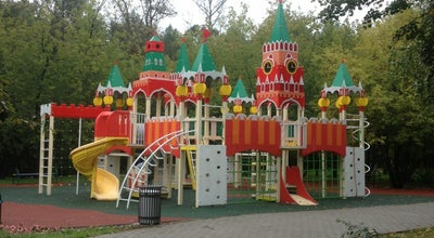 Photo of Playground Детская площадка «Кремль» at Измайловский Просп., Москва, Russia