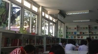 Photo of Library ห้องสมุด (ร.ร.บุญวาทย์วิทยาลัย) at Lampang, Thailand