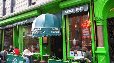 Photo of Cafe Cafe Reggio at 119 Macdougal St, New York, NY 10012, United States