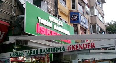 Photo of Doner Restaurant Gerçek Tarihi Bandırma İskender (İsmail Usta) at Hükümet Cad. No:6/a, Bandırma, Turkey