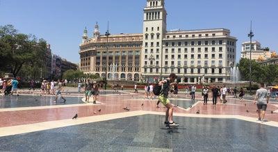 Photo of Toll Plaza plaza de cataluña barcelona españa at Spain