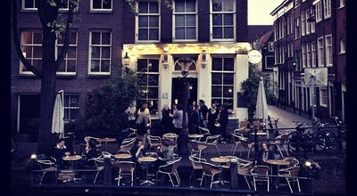 Photo of Bar Café 't Smalle at Egelantiersgracht 12, Amsterdam 1015 RL, Netherlands