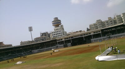 Photo of Cricket Ground The Cricket Club Of India (CCI) at Dinshaw Vacha Rd., Mumbai, India