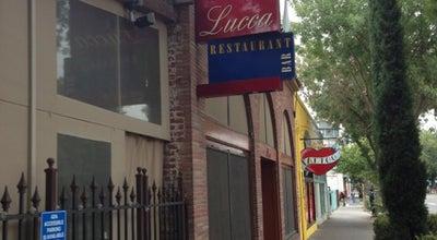 Photo of Mediterranean Restaurant Lucca Restaurant & Bar at 1615 J St, Sacramento, CA 95814, United States