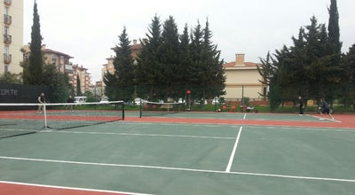 Photo of Tennis Court Sinanoba Tenis Kortu at Sinanoba Baris Manco Parki, İstanbul, Turkey