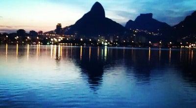 Photo of Lake Lagoa Rodrigo de Freitas at Av. Epitácio Pessoa, Rio de Janeiro 22247-000, Brazil