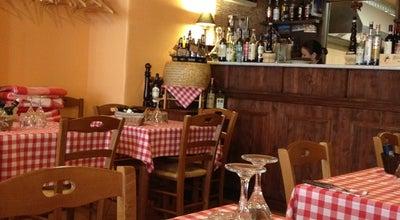 Photo of Italian Restaurant Trattoria del Gallo Nero at Lai 32, Tallinn 10133, Estonia