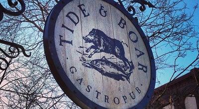 Photo of Gastropub Tide & Boar Gastropub at 700 Main St, Moncton, NB E1C 1E4, Canada
