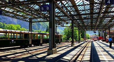 Photo of Train Station Bahnhof Lauterbrunnen at Bahnhofplatz, Lauterbrunnen 3822, Switzerland