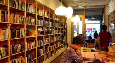 Photo of Coffee Shop Babèlia Books & Coffee at Villarroel 27, Barcelona 08011, Spain