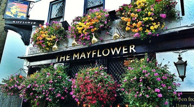 Photo of Pub The Mayflower at 117 Rotherhithe St, Rotherhithe SE16 4NF, United Kingdom