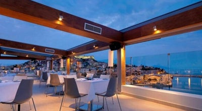 Photo of Cafe Galaxy Hotel Roof Garden at Ελευθερίου Βενιζέλου 27, Καβάλα 654 03, Greece