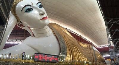Photo of Buddhist Temple Chauk Htat Gyi Pagoda at Bahan Township, Yangon, Myanmar