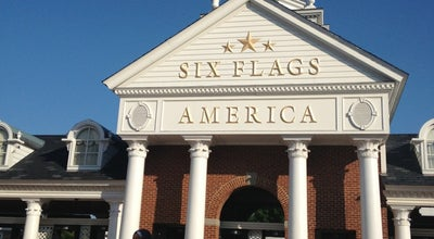 Photo of Theme Park Six Flags America at 13710 Central Ave, Upper Marlboro, MD 20774, United States