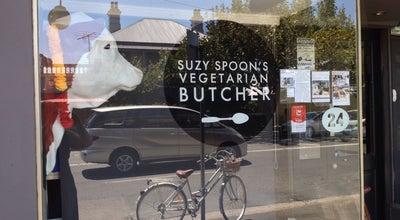 Photo of Vegetarian / Vegan Restaurant Suzy Spoon's Vegetarian Butcher at 22-24 King St., Newtown, NS 2042, Australia