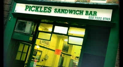 Photo of Cafe Pickles Sandwich Bar at 6 Old Queen St, Westminster SW1H 9HP, United Kingdom