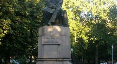 Photo of Monument / Landmark Памятник Поликарпову at Ул. Поликарпова, Орёл, Russia