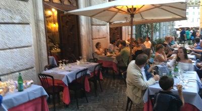 Photo of Italian Restaurant Da Pancrazio at Piazza Del Biscione 92, Roma 00186, Italy