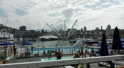 Photo of Water Park Piscina Porto Antico at Porto Antico, Genova, Italy