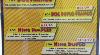 Photo of Burger Joint Dog King Lanches at Av. Tiradentes, 912, Rolandia 86600-000, Brazil