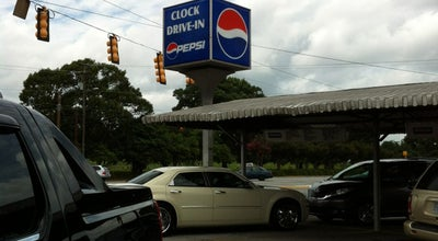 Photo of Diner Clock Drive-in at 1844 Wade Hampton Blvd, Greenville, SC 29609, United States
