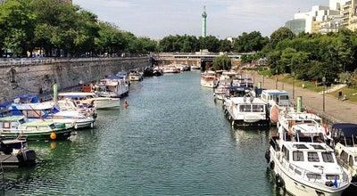 Photo of Harbor / Marina Port de l'Arsenal at Boulevard De La Bastille, Paris 75012, France