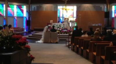 Photo of Church Saint Thomas Aquinas Catholic Church at 401 Alderman Rd, Charlottesville, VA 22903, United States