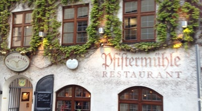 Photo of German Restaurant Pfistermühle at Pfisterstraße 4, München 80331, Germany
