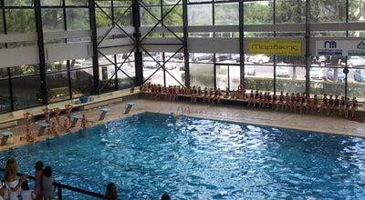 Photo of Pool Κλειστό Κολυμβητήριο Γλυφάδας at Φοίβης 14, Γλυφάδα 166 74, Greece