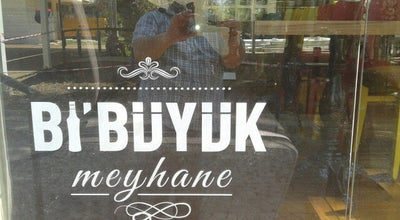 Photo of Meyhane Bi'Büyük Meyhane at Fener Caddesi, Fener Mahallesi, 15/9, Antalya 07125, Turkey