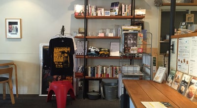 Photo of Cafe CoMA coffee&bookstore at 北区丸の内1-1-5, 岡山市 700-0823, Japan