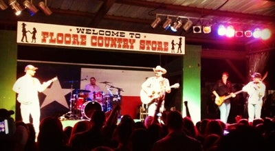 Photo of Concert Hall John T Floore Country Store at 14492 Old Bandera Rd, Helotes, TX 78023, United States